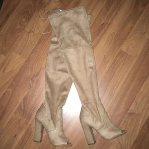 Steve Madden Elliana over the knee boots (NWT)